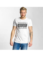 SHINE Original T-Shirt Parental Advisory blanc