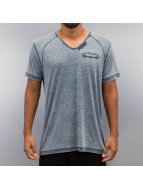SHINE Original T-Shirt Burn Out Effect blau
