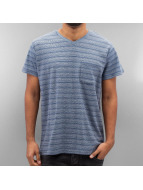 SHINE Original T-Shirt Inside Out Stripe blau