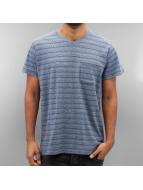 SHINE Original T-Shirt Inside Out Stripe blau