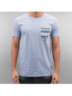 SHINE Original T-Shirt Pocket blau