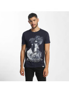 SHINE Original T-Shirt Animal Print blau