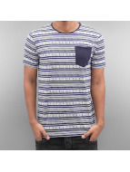 SHINE Original t-shirt Stripes blauw