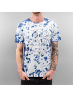 SHINE Original T-Shirt Tie Dyed bleu