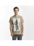 SHINE Original T-Shirt Dusty Photo Print braun