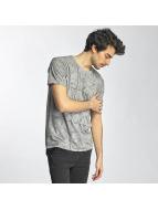SHINE Original T-shirt Stripes grå