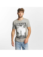 SHINE Original T-Shirt Kleth Photo Print grau
