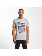 SHINE Original T-Shirt Barret Photo Print grau