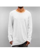SHINE Original T-Shirt manches longues Asymmetric blanc