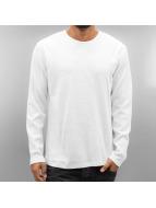 SHINE Original T-Shirt manches longues Waffle blanc
