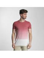 SHINE Original T-Shirt Dip Dyed rosa