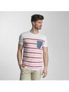 SHINE Original T-Shirt Striped rosa
