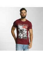 SHINE Original T-Shirt Salvatore Photo Printed rot