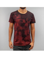 SHINE Original T-Shirt Acid Washed rouge