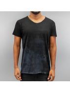 SHINE Original T-Shirt Raw Oil Wash schwarz