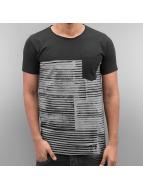 SHINE Original T-shirt Stripes svart