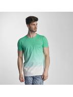 SHINE Original T-shirt Dip Dyed verde