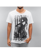 SHINE Original T-Shirt Photo Print weiß