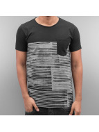 SHINE Original t-shirt Stripes zwart