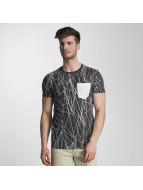 SHINE Original t-shirt Long Oversize Jarrod zwart