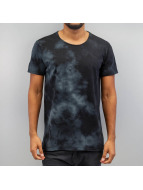 SHINE Original T-shirtar Acid Washed grå