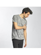 SHINE Original T-shirtar Stripes grå
