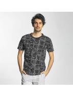 SHINE Original T-shirtar Stripes svart