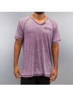 SHINE Original T-Shirts Burn Out Effect eflatun