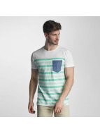 SHINE Original Striped T-Shirt Faded Mint