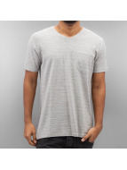 SHINE Original T-Shirts Inside Out Stripe gri