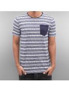 SHINE Original T-Shirts Stripes mavi