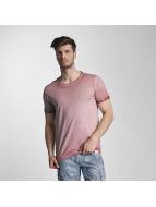 SHINE Original T-Shirts Dirt Dye Wash pembe