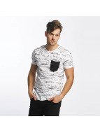 SHINE Original T-Shirty All Over Print bialy