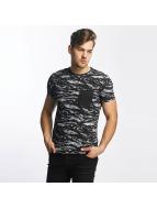 SHINE Original T-Shirty All Over Print czarny