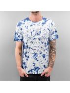 SHINE Original T-Shirty Tie Dyed niebieski