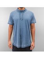 SHINE Original T-skjorter Burn Out Effect blå