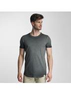 SHINE Original T-skjorter Dirt Dye Wash svart