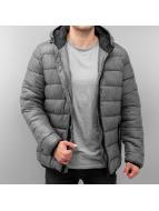 SHINE Original Veste d'hiver Raglan Puffer gris