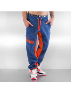Shisha Sundag Sweat Pants Steel Blue Ash/Orange