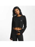 Shisha  Pullover Cropped schwarz