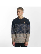 Shisha Deefach Knit Sweater Blue/Creme