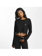 Shisha  Sweat & Pull Cropped noir