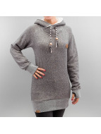 Shisha  Sweat capuche Felli Long gris