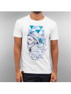 Shisha  T-paidat Flash Hein valkoinen