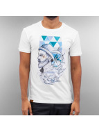 Shisha  T-Shirt Flash Hein blanc