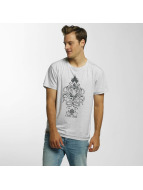 Shisha  t-shirt Oktopussi grijs