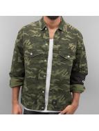 Sixth June Демисезонная куртка Oversized Denim камуфляж