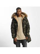 Sixth June Зимняя куртка Fur камуфляж