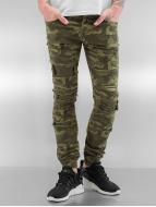 Sixth June Облегающие джинсы Destroyed Camou камуфляж