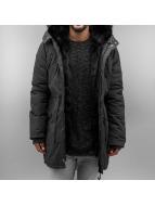Sixth June Пальто Fur серый